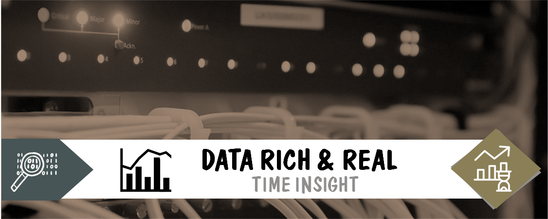 Data Rich & Real Banner
