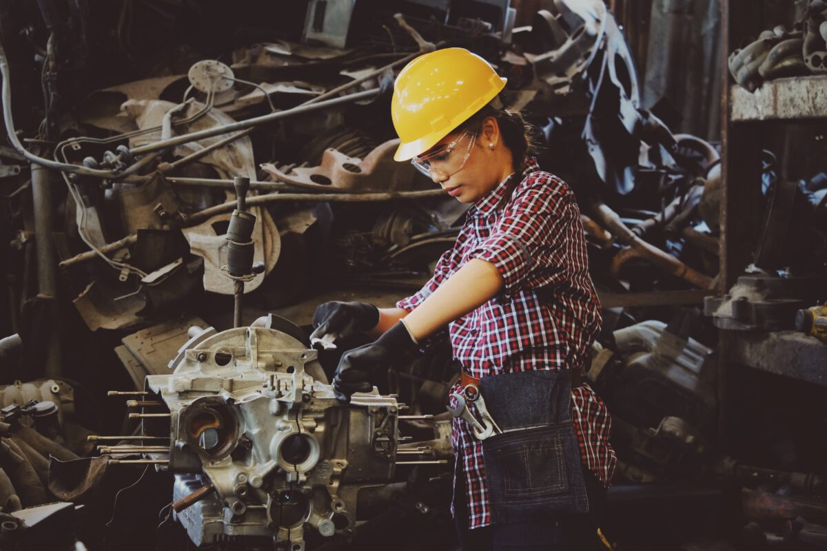 Female Apprentices in Manufacturing